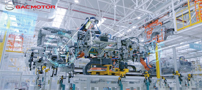Los gigantes chinos GAC y Huawei trabajarán juntos para desarrollar un SUV inteligente (PRNewsfoto/GAC MOTOR)