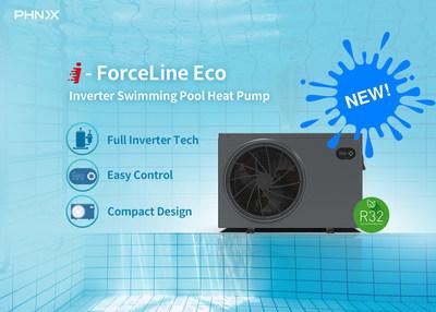 PHNIX New Inverter Swimming Pool Heat Pump